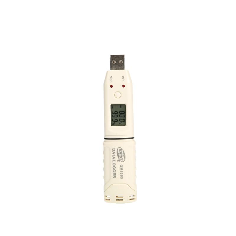 Mini Digital USB Temperature Humidity Recorder Pen Type Brand LCD Humidity Temperature Data Logger -30~+80 Celsius Auto Recorder xintest ht 160 professional usb pen temperature and humidity data logger