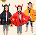 2016 Niños Disfraces de Halloween Niños de la capa de foso caliente Fiesta de Carnaval Vestido Fantasia Ropa de Funcionamiento de La Etapa