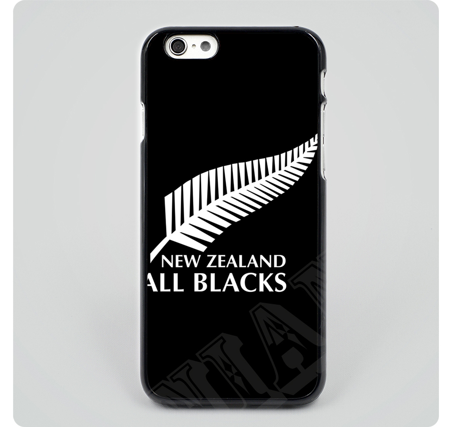 1e185c8581c6 Free shipping New Zealand All Blacks Rugby Tree Leaf Hard Skin mobile phone  cases cover housing for iPhone 6 6 plus 5 5s 5c 4 4s
