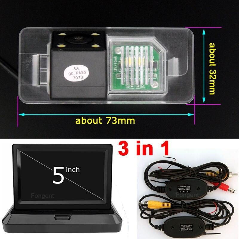 Für BMW 3 & 5 serie X1 X2 X3 X4 X5 X6 E38 E39 E46 E60 E61 E65 E66 E90 e91 E92 Wireless Monitor Parkplatz Back up Rückansicht Kamera