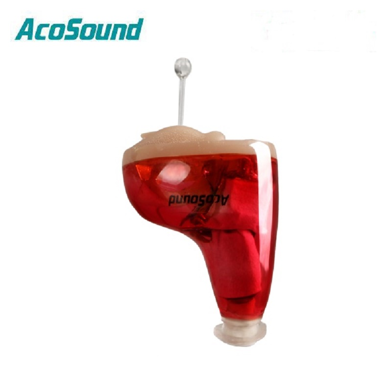 AcoSound Best Digital 2 Channels Invisible Hearing Aid Hearing Amplifier Ear Sound Amplifier For The Elderly Hearing Aids