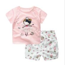 Baby Boys Girls Short Sleeve Set Clothing