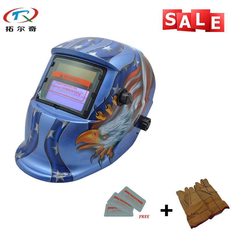 Motorcycle Helmet Solder Mask Industrial Safety Helmets Electronic Custom Auto Darkening Welding Helmet TRQ-HD54-2233FF-YG