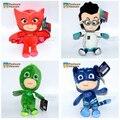 1 Pcs High quality anime PJ Masks Plush Doll Toys cartoon Catboy Owlet Gekko Cape Toys Connor Greg Amaya for Kids Gifts