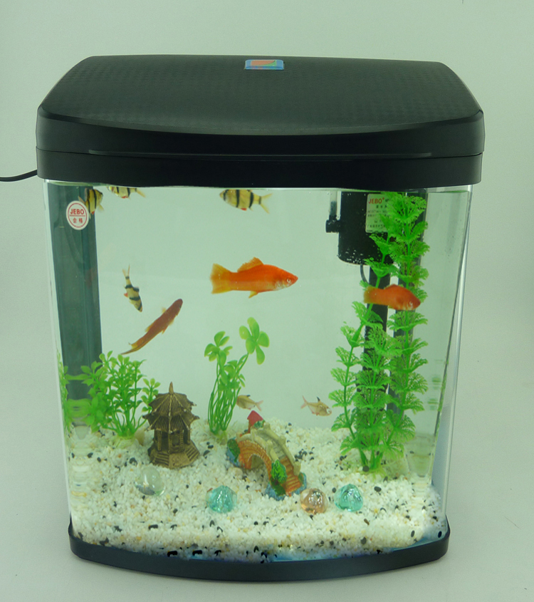 Fitch Think Tank Aquarium Eco Ornamental Tropical Fish Tank Mini