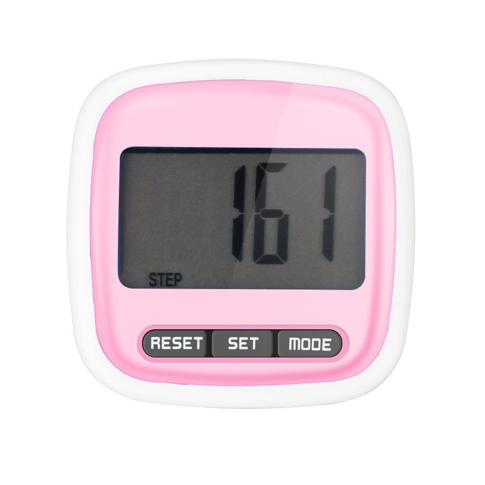 2019 Hot Sale Multi-Function Mini Waterproof Digital Pedometer Step Movement Calories Counter Stappenteller Dropshipping