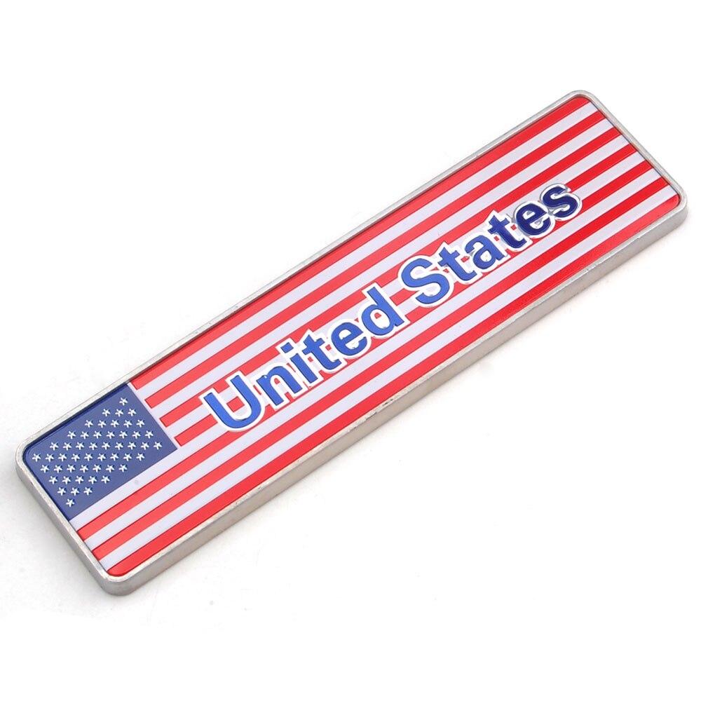 Принадлежности для шашлыков @ fuka 1 шт. алюминия американский флаг США полиция Пожарная аварийного Светоотражающие Стикеры эмблема пригодны... ...
