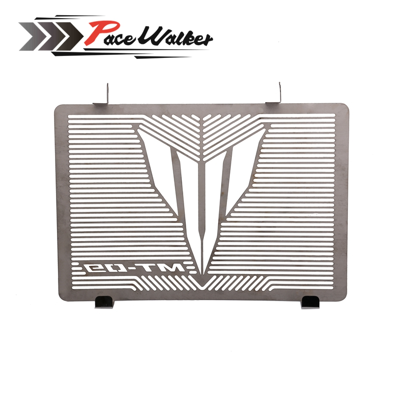For YAMAH MT 09 MT-09 Tracer 2015 Motorcycle modified Accessories Radiator Grille Guard Cover Protector stainless steel motorcycle radiator protective cover grill guard grille protector for kawasaki z1000sx ninja 1000 2011 2012 2013 2014 2015 2016