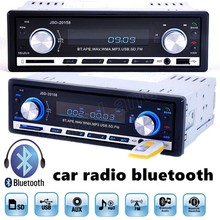 high quality 1 din In Dash Car Radio MP3 Player Audio Stereo FM Aux Input USB SD Remote control bluetooth music phone