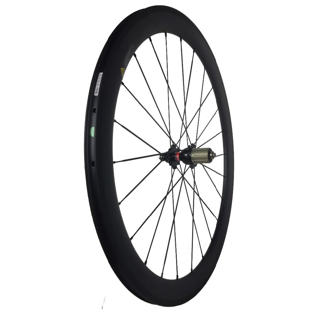 Velocity Full Carbon 700C Mischradsatz 23mm Breite 38mm + 50mm Tiefe - Radfahren - Foto 4