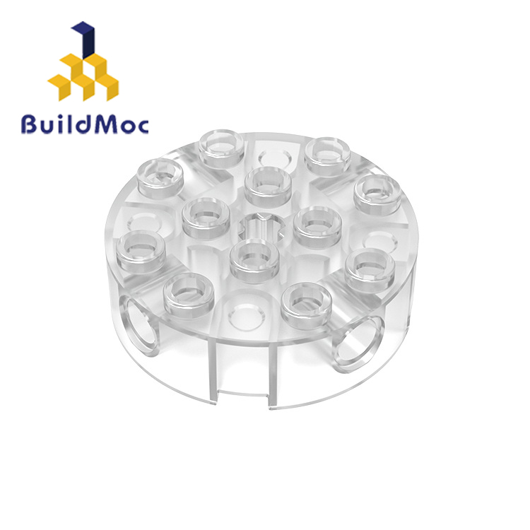 BuildMOC Compatible Assembles Particles 6222 4x4 For Building Blocks DIY LOGO Educational High-Tech Spare Toys