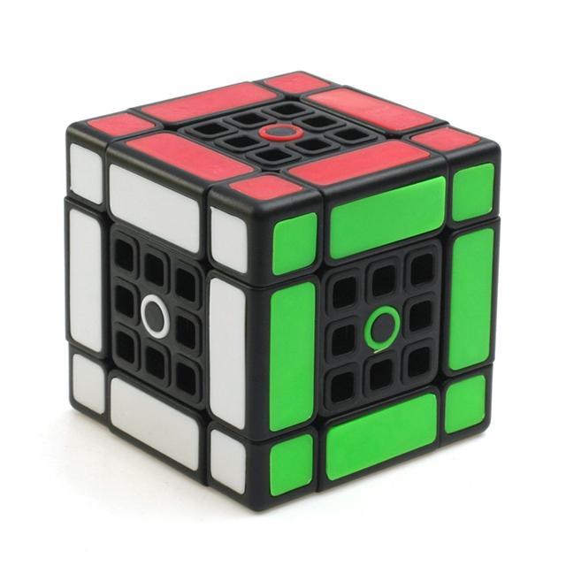 Nueva 3 capas de Mezcla Doble Profesional Pegatina Velocidad Cubo Mágico Strange-forma Torcedura Puzzle Cube Juguetes Educativos para Niños-45
