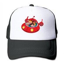 DUTRODU Unisex Baseball Caps Mesh Back casquette Little Einsteins Rocket  snapback hip hop hat vary colors 3b248e875827