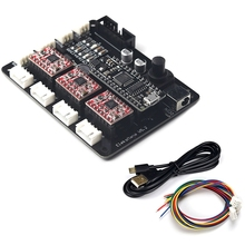 Eleksmana V5.2 Grbl Cnc Motherboard Usb Cnc 3 Axis Control Card Cnc Diy Parts Device Usb Stepper Motor Driver pcl 839 3 shaft stepper motor control card data acquisition card