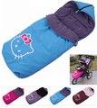 Asiento de coche cochecito de bebé Saco de dormir de algodón a prueba de viento campana recién nacidos invierno envolvente accesorios bolsa de dormir para bebes