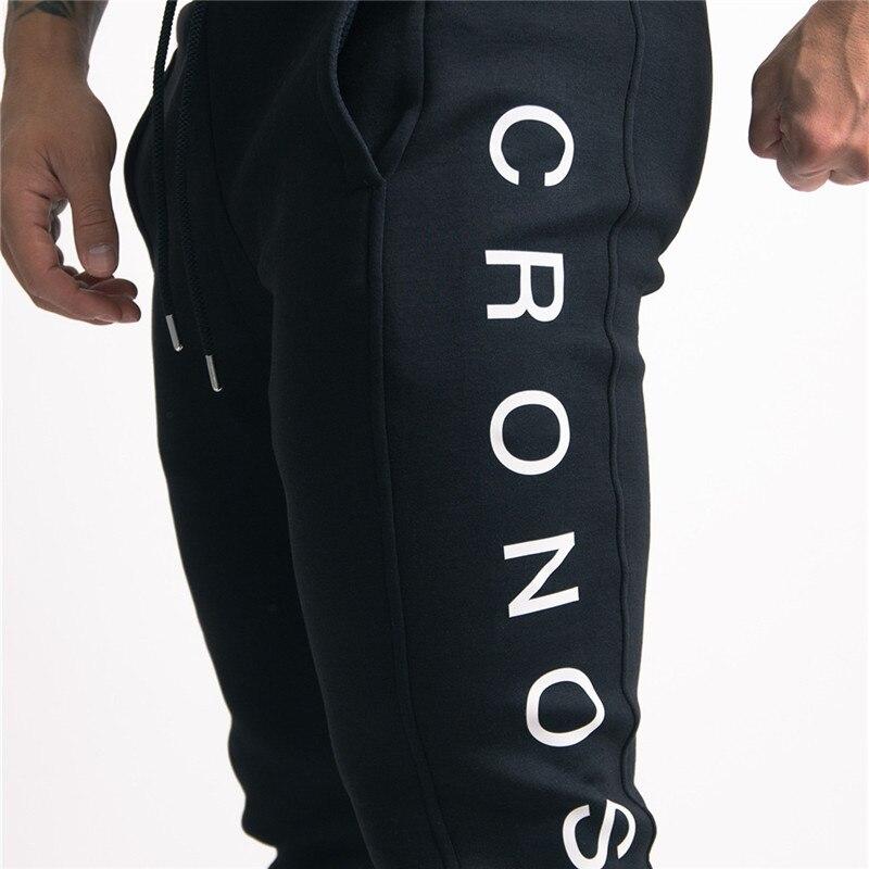 Image 3 - YEMEKE 2019 Elasticity Mens Joggers Pants Casual Fashion Bodybuilding Joggers Sweatpants Bottom Printing Pants Men Casual Pants-in Sweatpants from Men's Clothing