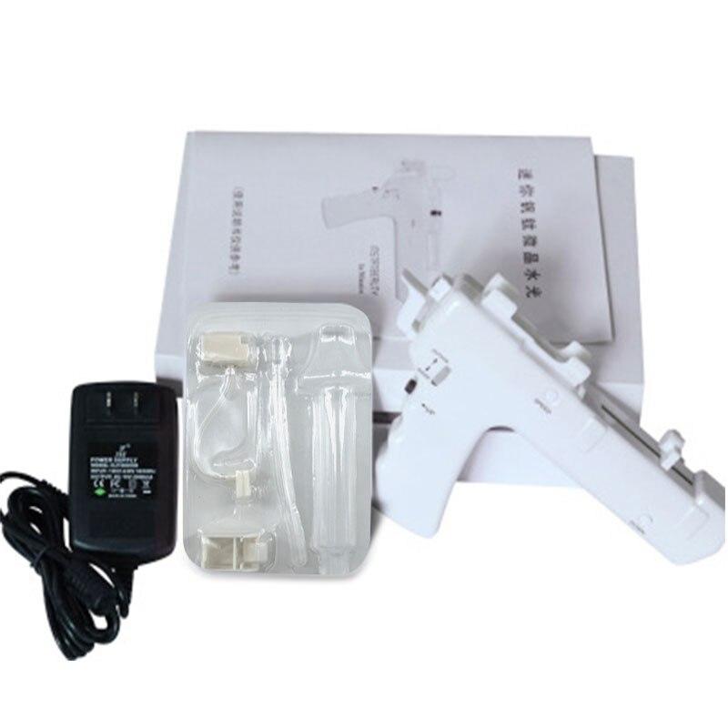 10PCS Needle Consumables Mesotherapy Gun 25D Vanadium Titanium Microcrystal Mesogun Face Skin Care Machine