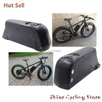 Free Shipping Rechargeable Ebike 24v 36v 48v 52V Electric bike battery dolphin type with USB for E bike battery pack