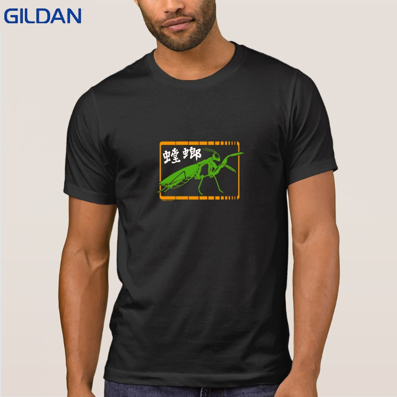 Mantis Style T Shirt Personality Standard Men T-Shirt Gents Fashion Fun Tshirt S-3xl Interesting