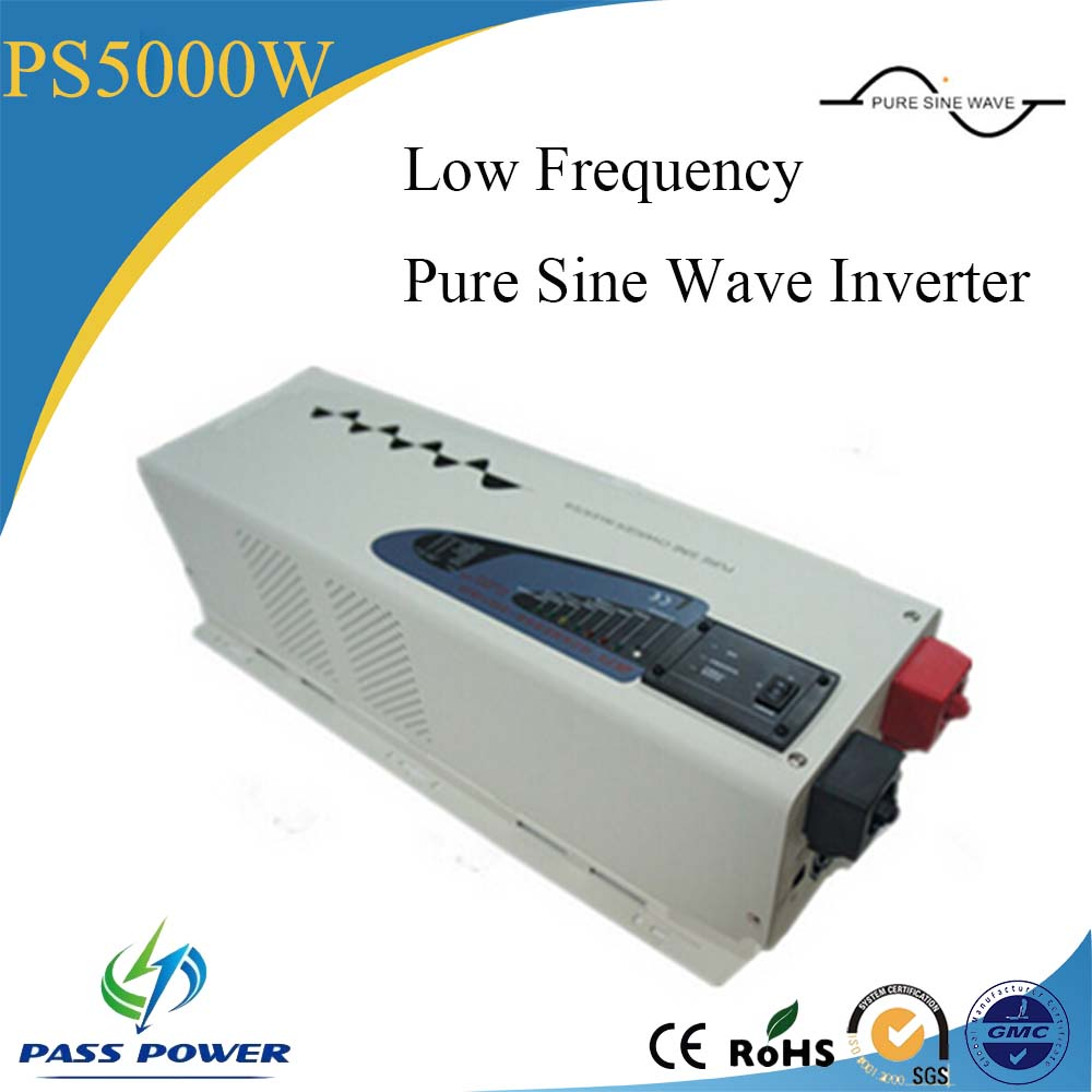 LCD Display DC AC 5000W low Frequency Inverter,Pure Sine Wave Inverter With ChargerLCD Display DC AC 5000W low Frequency Inverter,Pure Sine Wave Inverter With Charger