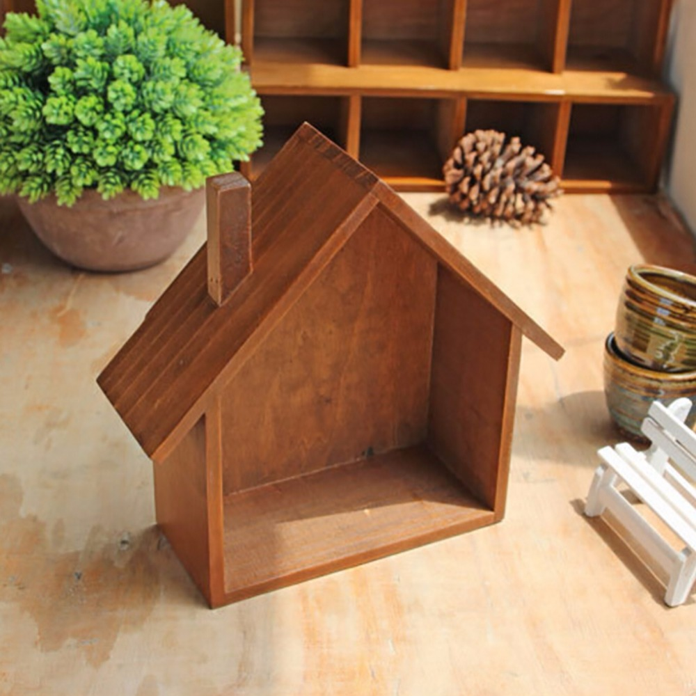 New Keys Storage Case Wooden Holder Box Wall Hanging