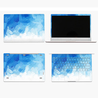 2017 New Colorful Painting Vinyl Decal Laptop Sticker For Xiaomi Mi Air 12 13 3 Notebook