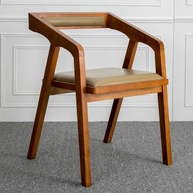 Louis Fashion Nordic Solid Wooden Contracted and Contemporary American Real Wood Chair Desk Chair Computer Chair & Louis Fashion Nordic Solid Wooden Contracted and Contemporary ...