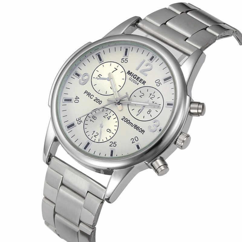 Reloj 2019 para hombre, novedad, moda, fecha superior, lujo, diseño Retro de alta calidad, negocio, colorido, Reloj Masculino, Reloj