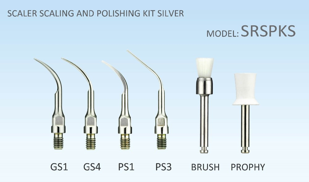 Kit Ponta SCALER Dental Ultrasonic scaler RASPAGEM