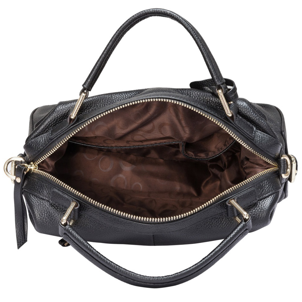 Zency 100% Genuine Leather Handbags Fashion Women Tote Bag Female Boston Charm Luxury Messenger Crossbody Purse Shoulder Bags
