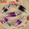 100ML 120ML Glass Roller Bottles For Essential Oil Key Tool Empty Cosmetic Containers Essential Oil Emulsion