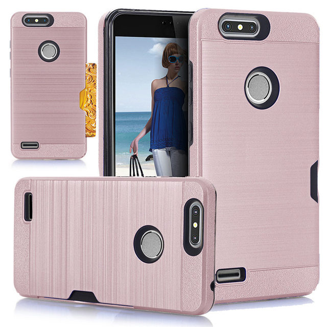 release date: 946f6 f156c Mobile Phone Case for ZTE Blade Z MAX z982 case for ZTE Zmax Pro 2Card  Pocket Holder Holster Stand Case Cover for ZTE Sequoia -in Half-wrapped  Case ...