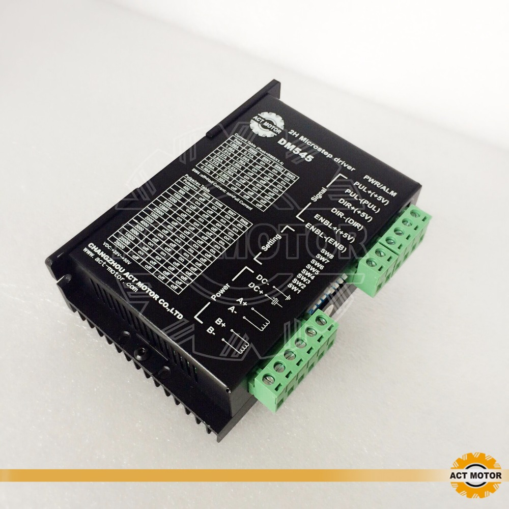 free to EU DM545 nema23 or nema34 stepper motor driver 128micsteps,4.5A  20-50VDC   CEfree to EU DM545 nema23 or nema34 stepper motor driver 128micsteps,4.5A  20-50VDC   CE