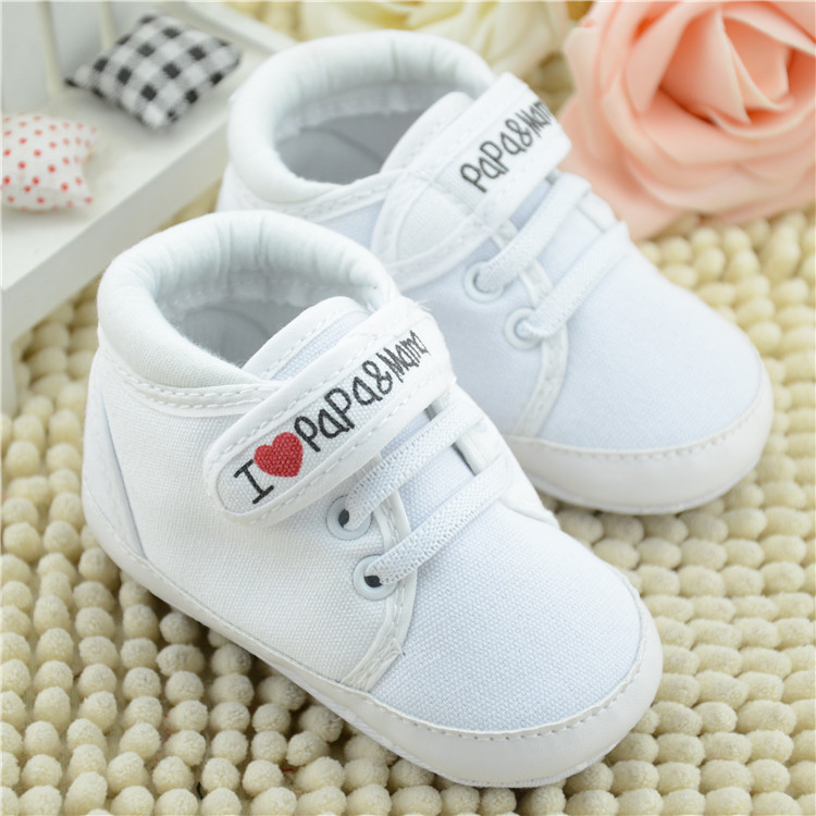 High Quality Sneaker Prewalker First Walker Crib Sport 0-18 Months Cute Infant Toddler Baby Shoes Girl Boy Soft Sole 11-13cm