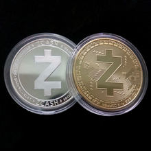 Non-currency Big Z Zero Commemorative Coins Silver/Gold Color Plated Art Collection Gift Collectable Coins Drop Shipping Support(China)
