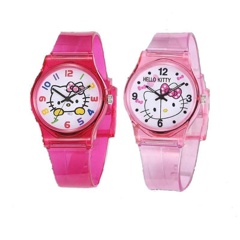 2019 Top Brand Kids Watch Cute Girls Watch Quartz Wristwatch Children Watches Boy Girl Pink Silicone Women Clock Fashion Relogio