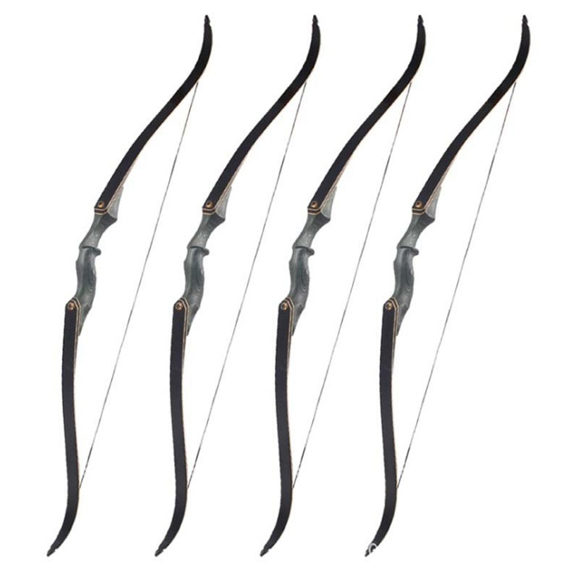 30lbs-60lbs Takedown Recurve Bow Hunting Archery Recurve Bow for Outdoor Shooting Adult Youth 60inch 60 archery recurve bow takedown american hunting estilingue bow 30 50lbs right hand target shooting archery accessories