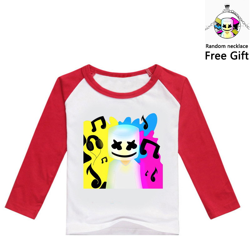 New Fashion Dj Marshmallow Funny Cotton T Shirt For Kids Summer Short Tops Casual Clothes Marshmellow Cosplay Costume For Boys And Girls Delicious In Taste
