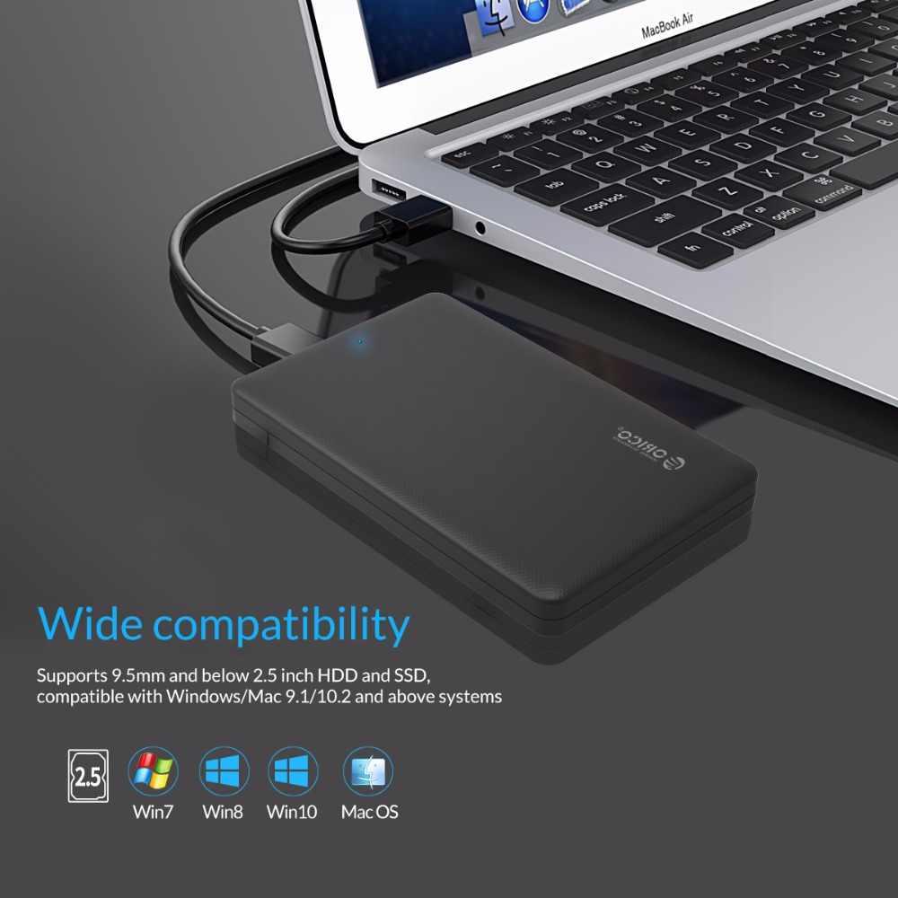 2.5 قالب أقراص صلبة ، ORICO Sata إلى USB 3.0 HDD أداة مجانية ل 7 مللي متر/9.5 مللي متر 2.5 محرك أقراص صلبة