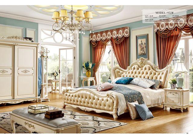 Adel Schlafzimmer Möbel Mit Tv Ständer Royal Wohnmöbel Sets Schiebe Tür  Kleiderschrank