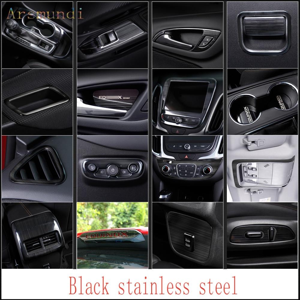 2018 Chevy Equinox Interior: Fit For Chevrolet Equinox 2018 Black Titanium Stainless