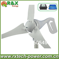 600W Max Wind Turbines 12V 24V Windmill Wind Solar Hybrid Controller LCD Display 600w Off Grid