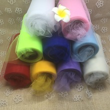 1pc Wedding Table Runner Party Decoration yellow RED BLUE PINK Crystal Tulle Organza Sheer Gauze Element baby shower favor Yarn
