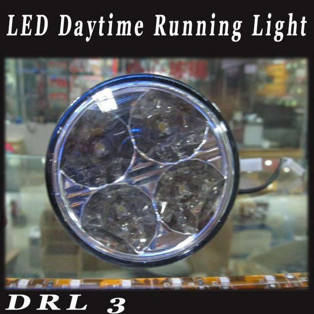 Round Shape DRL LED Daytime Running Light A36