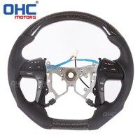 Real Carbon Fiber Steering Wheel for Toyota Camry / Hilux / Estima / Highlander / Fortuner