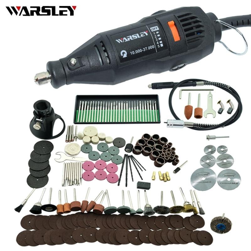 Dremel 180 W pluma de grabado eléctrico herramienta rotativa de Mini taladro Mini-molino máquina de molienda