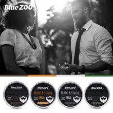 BearPaw 4 tastes Men Beard Oil Balm Moustache Wax for styling Beeswax Moisturizi