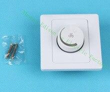 Настенный выключатель доступ сенсорный выключатель света управления переключатели ПЕРЕМЕННОГО ТОКА 110-250 В 1 банды регулирование скорости