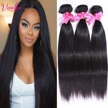 Malaysian Straight Hair Bundles Dark Light Brown Hair Weave Human Hair Bundles Malaysian Virgin Hair Straight 4 Bundles Straight(China (Mainland))