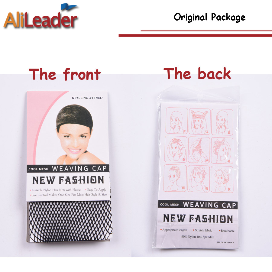 Alileader Beauty Wish Wig 1Pcs-5Pcs New Stretchable Elastic Hair Nets Snood Wig Cap Cool Mesh Cosplay Black Color FishHairnet 4